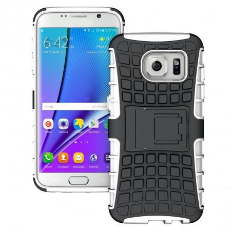 Coque Galaxy S7 Edge Anti-choc Noire et Blanche - Crazy Kase