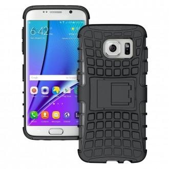 Coque Galaxy S7 Edge Anti-choc Noire - Crazy Kase