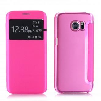 Etui Galaxy S7 Edge Rose- Crazy Kase