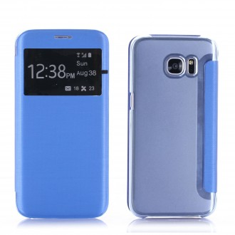 Etui Galaxy S7 Edge Bleu - Crazy Kase