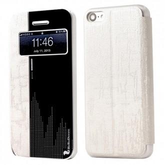 Etui iPhone 5C Blanc et effet miroir - Der