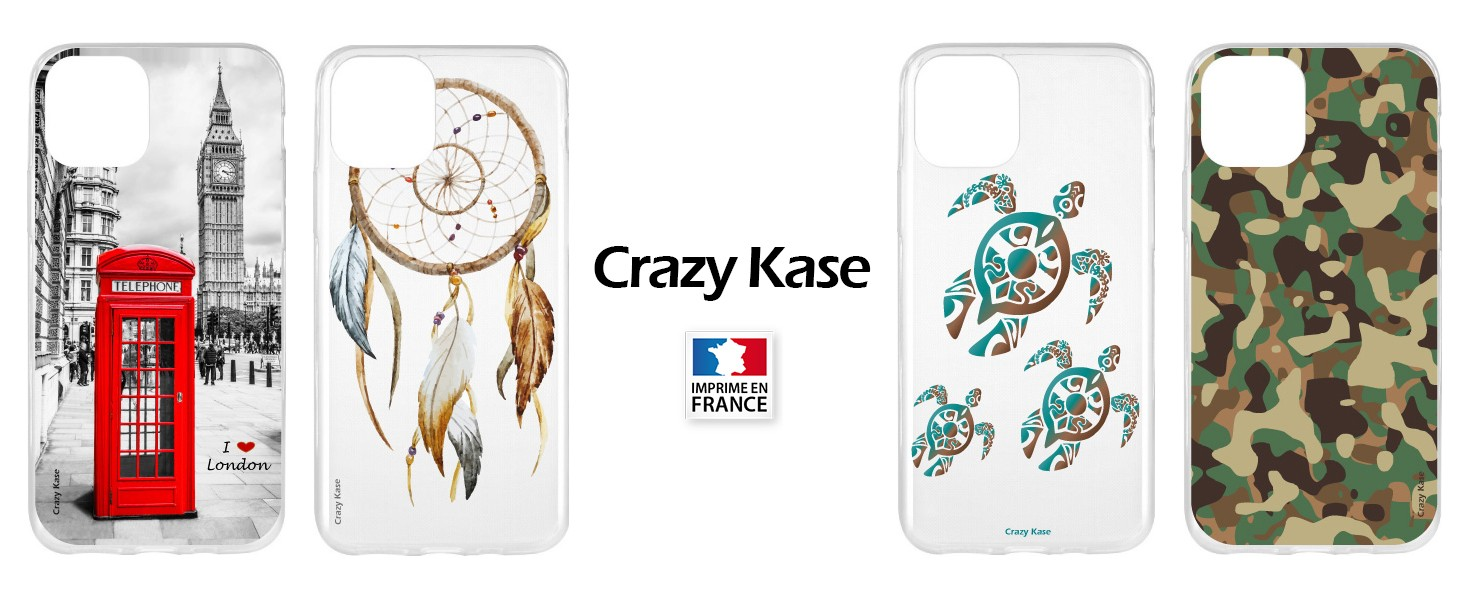 Coque Crazy Kase